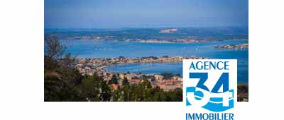 logo Agence 34 immobilier - syndic de copropriete